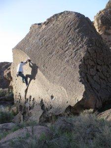 Derp dee derp...climbin' rocks...